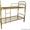 Кровати с деревянными спинками,  кровати для больницы,  кровати оптом #692009