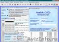 Analitika 2009 - Бесплатное ПО для учета и анализа деятельности предприятия
