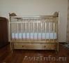 Продается детская кроватка фирмы Наша мама+ортопедический матрац