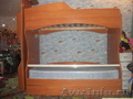 Двухэтажная кровать с ящичками для белья