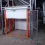 грузовой лифт. подьемник . консольный кран