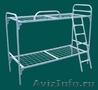 Металлические кровати для пансионатов,  кровати армейские,  кровати двухъярусные