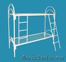 Кровати одноярусные для бытовок, кровати металлические для казарм. Оптом - Изображение #2, Объявление #1479835